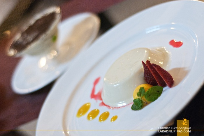 Millie's Panna Cotta and Tiramisu at Microtel MOA