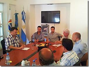 Juan Pablo de Jesús se reunió con el Secretario de Servicios Públicos bonaerense para analizar mejoras en el servicio de agua potable