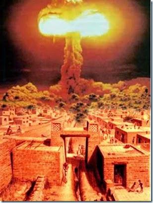 bomba atomica en la antiguedad