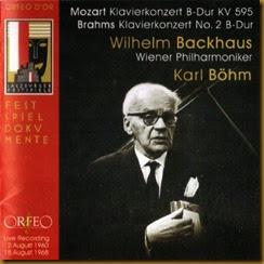 Mozart 27 Backhaus Bohm Orfeo