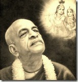 [Prabhupada thinking of Radha and Krishna]
