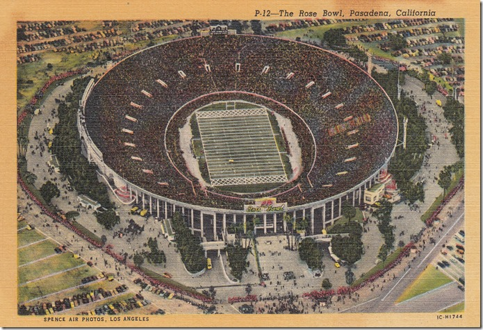 The Rose Bowl, Pasadena, California pg. 1