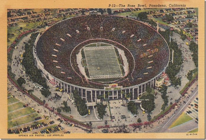 The Rose Bowl, Pasadena, California pg. 1