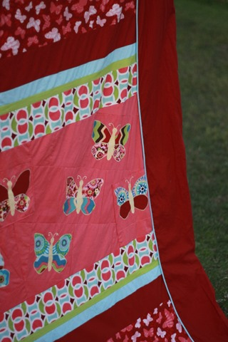 Butterfly Quilt Cover (1)