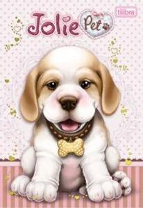 Jolie Pet - cachorrinho, Pets da boneca Jolie – tilibra