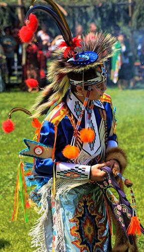 Lenape Powwow Fancy Dancer4