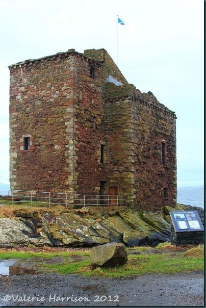 1-portencross-castle
