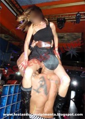 Stripper Meteoro e esposa
