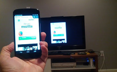Mozilla Firefox Basic tab mirroring