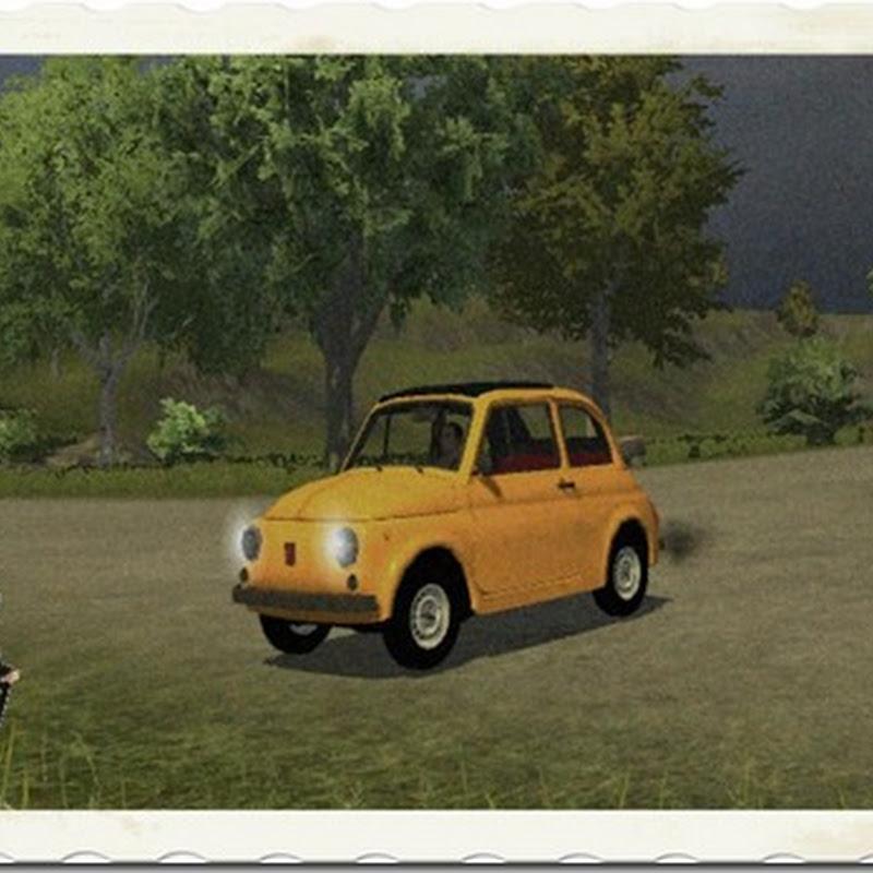 Farming simulator 2013 - Classic Fiat 500 v 1