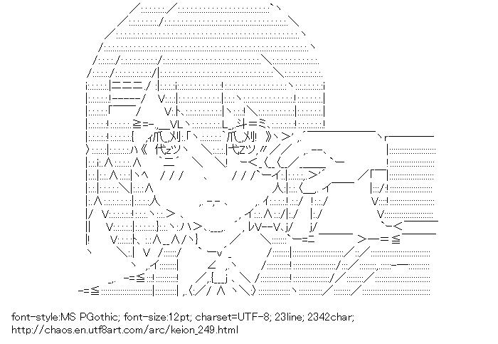 Keion!,Hirasawa Yui,Mobile Suit Gundam Wing,Heero Yuy