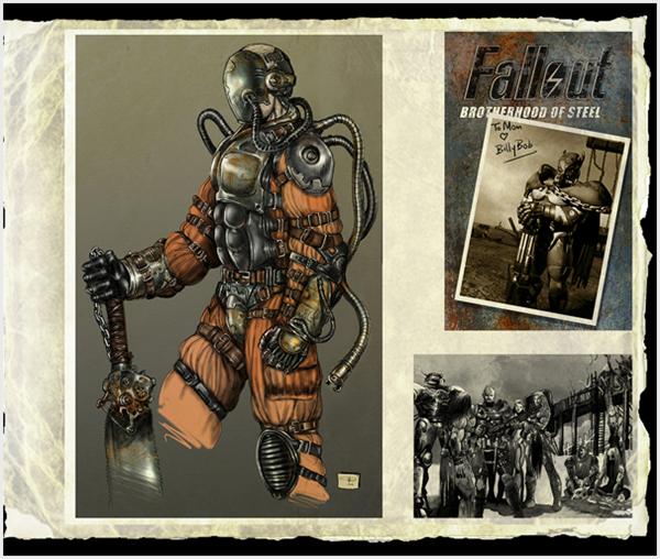 fallout tactics concept art