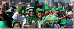 Chicago St. Patrick parade