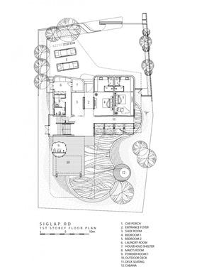 plano-casa-ninety7-siglap-de-aamer-architects