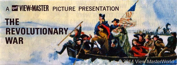 ViewMaster The Revolutionary War B810 Illustration 1