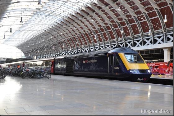 London Paddington Train station