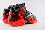 nike lebron 11 gr black red 5 06 New Photos // Nike LeBron XI Miami Heat (616175 001)