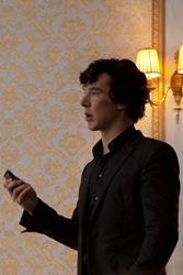 BBC Sherlock Benedict Cumberbatch is Sherlock