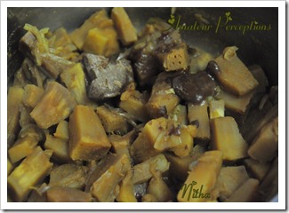Kadachakka - Bread fruit curry 3