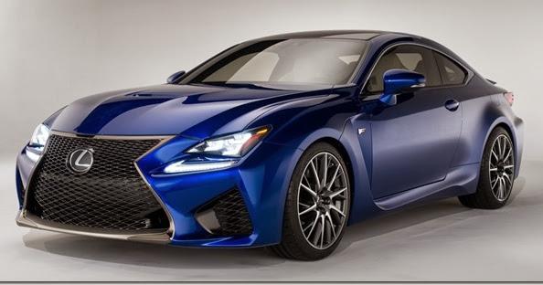 Lexus divulga primeiras informações do RC F