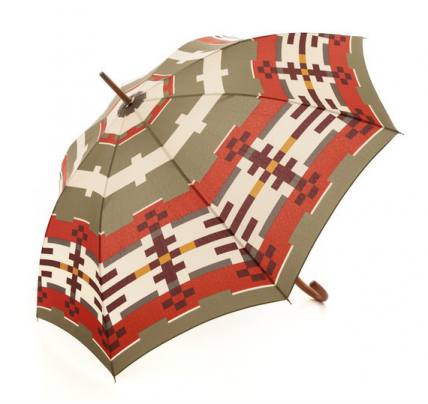 Pendleton Portland Collection umbrella, $100, http://ingodwetrustnyc.myshopify.com