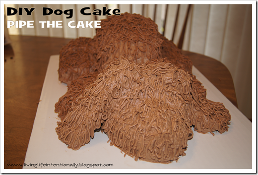 3d cat cake instructions