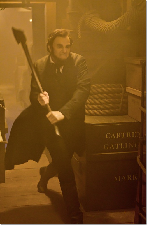 ABRAHAM LINCOLN VAMPIRE HUNTER - benjamin walker