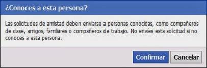 Conoces a esta persona - Facebook