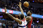 lebron james nba 121204 mia at was 04 LeBron James Nears 2nd Triple Double, Wears Lavas in a Loss