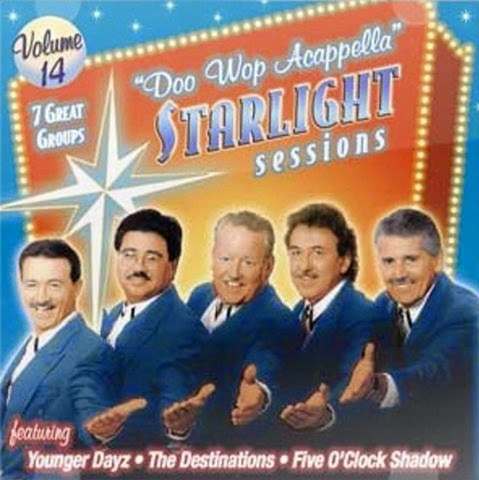 Doo Wop Acappella Starlight Sessions - Volume 14 - Front Cover