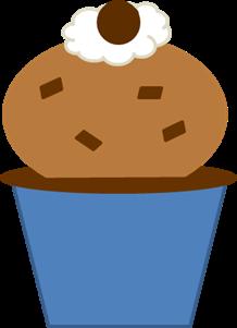 Capuccino Chip Ice Cream Cupcake 2