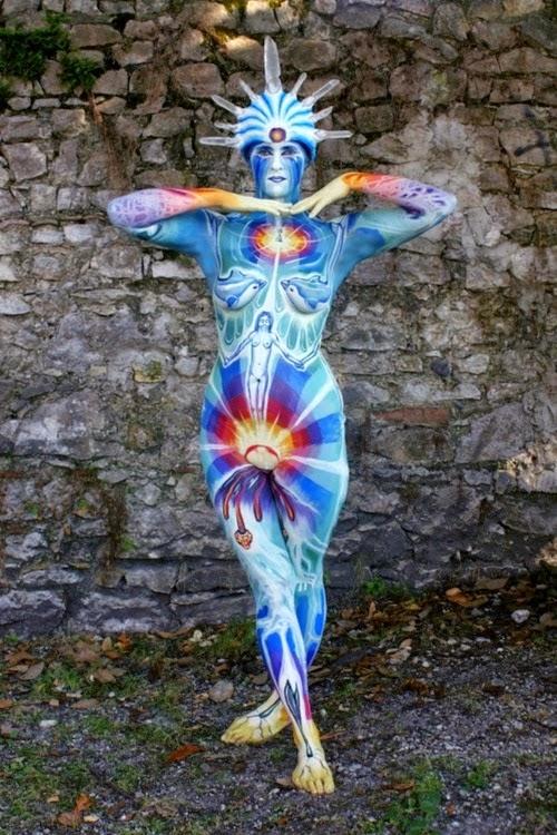 Arte corporal anatomia humana 09