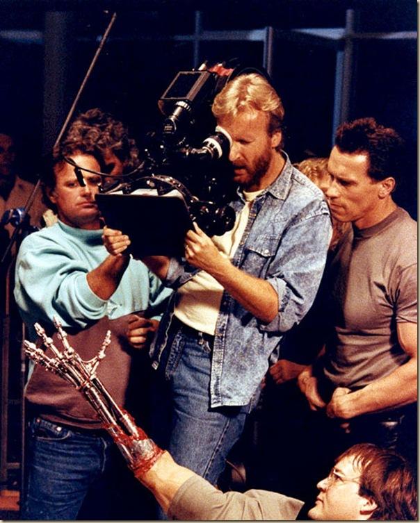 Photos étonnantes dans les coulisses de grands films (2)