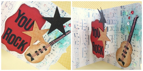 cafe creativo -sizzix big shot - card music guitar pop up (2)