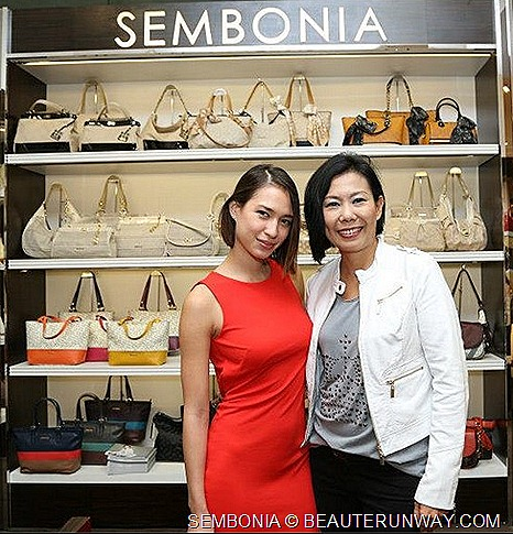 Irene Ang FLY Entertainment Artiste Ah Boys to Men Movie Liv Lo host SEMBONIA Spring Summer 2013 leather bags, handbags, tote, satchel, hobo,  wallets, card holders, accessories shoes fashion show MINI COUNTRY MAN Car