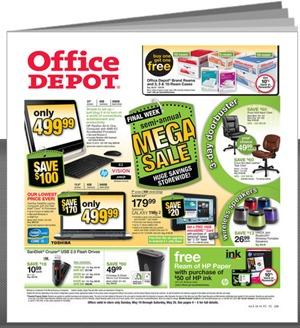 Office Depot Ad