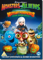 Monsters vs Aliens Mutant Pumpkins