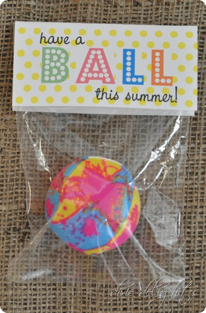 Summer Squishy Tag : Hope Your Summer is a SCREAM! {Free Printable} - Dixie Delights