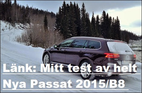 Länk: Test Nya Passat SportsCombi TDI190 (B8)