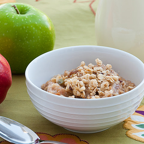 Overnight Apple Cinnamon Baked Oatmeal Recept | Yummly