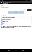 Screenshot of Ausbildungsplatz-Suche