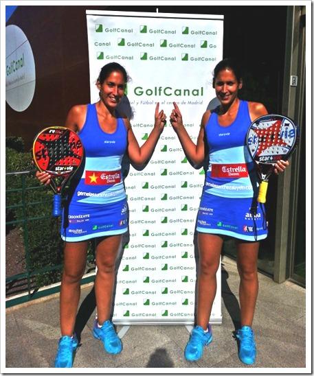 GolfCanal apoya a las jugadoras Mapi y Majo Sánchez Alayeto en este WPT 2014.