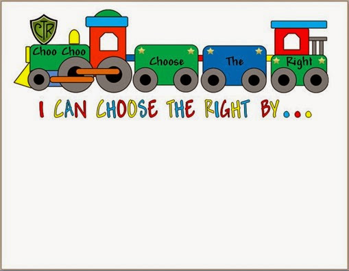 Choose The right - Train - Paper