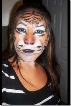 maquillaje de tigre (3)