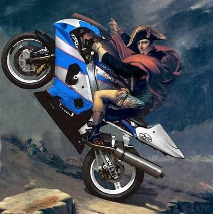 napoleon-on-a-motorcycle-495x500