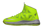 nike lebron 10 gr atomic volt dunkman 0 03 Nike, This is How We Want Our Volts! With Diamond Cut Swoosh.