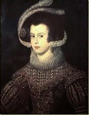 Isabel de Borbón. Retrato de Diego Velázquez