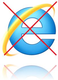 Sem Internet Explorer