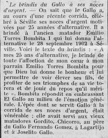 1927-09-00 Brindis de Rafael a Manolo Bomba