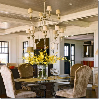 Dining Room Double Chandelier